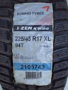 Kumho I'Zen KW22. Зимние, под шипы, 2010 год, без износа, 2 шт