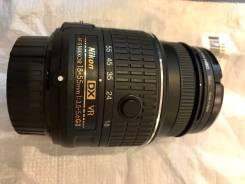 Объектив Nikon DX VR (18-55mm) и (55-300 mm). Для Nikon, диаметр фильтра 52 мм