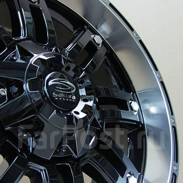 Sakura Wheels 693. 9.0x20, 6x139.70, ET15, ЦО 110,5мм.
