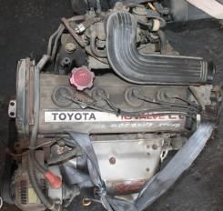 Двигатель в сборе. Toyota Carina ED, ST163 Двигатель 4SFI