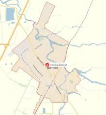 Продаю земельный участок 5.2 сот., ст. Динская ул. Ивана Франко. 520 кв.м., собственность, от агентства недвижимости (посредник)