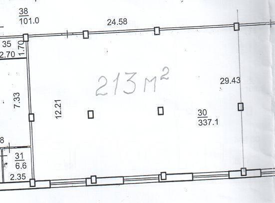 Склад недорого. 1 400кв.м., улица Воропаева 22, р-н Фадеева. План помещения
