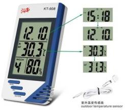 КТ908 гигрометр, термометр и часы, с чипом