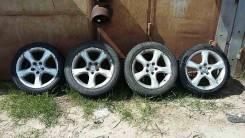 Колёса Toyota Mark IR-V, Altezza (Резина Continental). 7.0/7.5x17 5x114.30 ET50/50 ЦО 60,1мм.