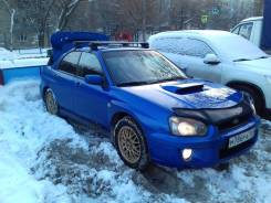 Дефлектор капота. Subaru Impreza