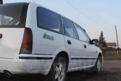Крепление запасного колеса. Nissan Avenir, VSW10, VEW10 Двигатели: CD20, GA16DS