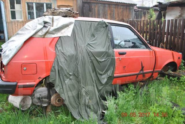 Toyota Starlet. KP61, 4 K