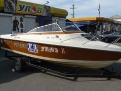 Yamaha STR-18. Год: 1987 год, длина 5,20м., двигатель подвесной, 75,00л.с., бензин