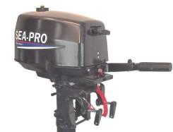 Sea-Pro. 4,00л.с., 2х тактный, бензин, нога S (381 мм), Год: 2017 год