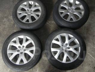 Комплект колес на Mazda cx-7. 7.5x18 5x114.30 ET50