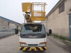 Isuzu Elf. Продам автовышку Isuzu-Elf 14 метров дизель 1999 год., 4 330 куб. см., 14 м.