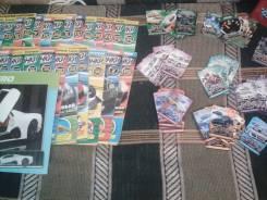 """Продам журналы и карточки """"Супергонки"""""""