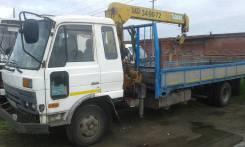 Nissan Diesel. Продается грузовик с манипулятором ниссан-дизель, 6 920 куб. см., 5 000 кг.