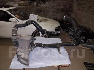 Интеркулер. Toyota Soarer, JZZ30 Двигатель 1JZGTE