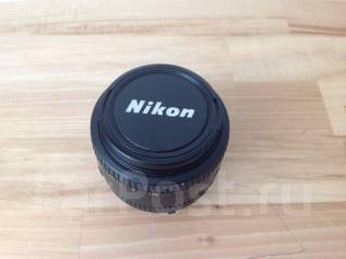 Объектив Nikon AF 50mm. Для Nikon, диаметр фильтра 52 мм
