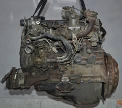 Двигатель в сборе. Toyota Hiace, LXH12 Двигатель 2L