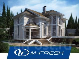 M-fresh Level Up! (Проект большого просторного дома с террасой! ). 400-500 кв. м., 2 этажа, 6 комнат, бетон
