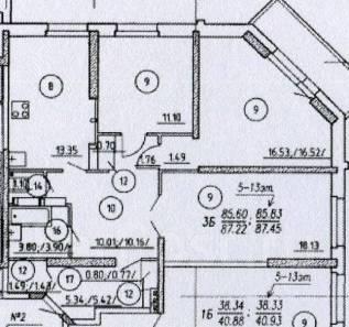 Продаются 3-х комнатные квартиры