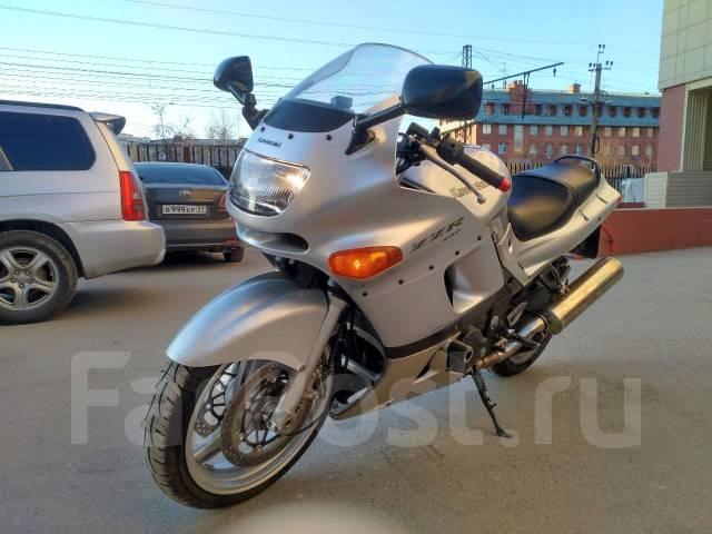 Kawasaki ZZR 400. 400 куб. см., исправен, птс, с пробегом