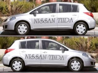 Наклейка. Nissan Tiida