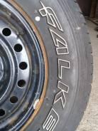 Продам летние колеса 245/70-16 Falken Ziex на штампах на джип. 7.0x16 6x139.70 ЦО 105,0мм.