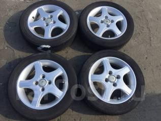 155/65 R14 Bridgestone Ecopia EX10 литые диски 4х100 (L13-1401). 4.5x14 4x100.00 ET45