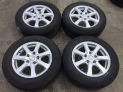 """195/65 R15 Dunlop, Bridgestone литые диски 5х114.3 (L13-1508). 6.0x15"""" 5x114.30 ET43 ЦО 72,0мм."""
