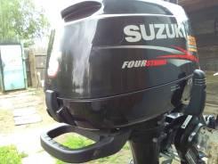 Suzuki. 5,00л.с., 4х тактный, бензин, нога S (381 мм), Год: 2013 год