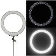 Профессиональная кольцевая лампа LED 240