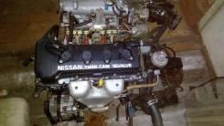 Двигатель в сборе. Nissan Wingroad, WFY11 Двигатель QG15DE