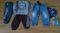 Костюм +джинсы 1.5-2 г. Рост: 86-98 см