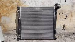 Радиатор охлаждения двигателя. Hyundai ix35 Hyundai Tucson