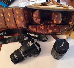 Canon EOS 500D Kit. 15 - 19.9 Мп, зум: без зума