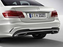 Задний бампер AMG для Mercedes E-Class W212 с 2013. Отправка по Миру!