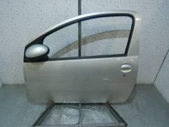 Дверь передняя левая (без зеркала 1.0i 12v 68лс) Toyota Aygo (2007г.)