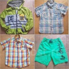 Большой лот одежды для мальчика. Рост: 128-134, 134-140 см