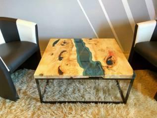 Эксклюзивная мебель из эпоксидной смолы