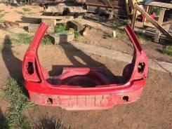 Задняя часть автомобиля. Toyota Corolla