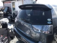 Накладка на дверь багажника. Mitsubishi Outlander, CW5W