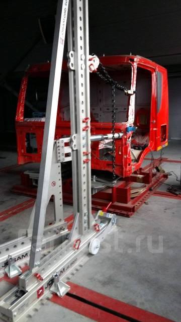 Кузовной ремонт кабин грузовиков и спецтехники