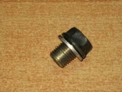 Пробка сливная поддона КПП Honda 92800-14000, б/у.