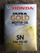 Honda. Вязкость 5W40, синтетическое
