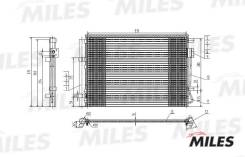 Радиатор кондиционера. Hyundai Accent Hyundai Solaris Hyundai i20 Kia Rio, JB Двигатель G4EE