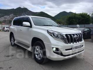 Toyota Land Cruiser Prado. автомат, 4wd, 2.7 (163 л.с.), бензин, 31 тыс. км