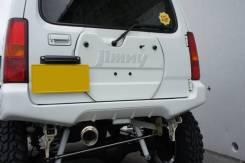 Накладка на дверь багажника. Suzuki Jimny Sierra, JB43W Suzuki Jimny, JB43, JB23W, JB33W, JB43W Suzuki Jimny Wide, JB33W, JB43W