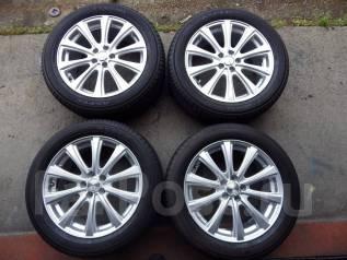 Готовый комплект колес 215/55 R17 Yokohama Aspec. 7.0x17 5x114.30
