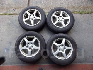Комплект готовых колес 195/65 R15 Yokohama BluEarth Ecos ES31. 6.0x15 5x114.30 ET52 ЦО 73,0мм.