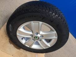 Зимние колеса на Skoda Octavia. 6.5x15 5x112.00 ET50