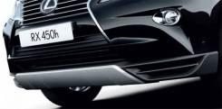 Накладка на бампер. Lexus RX350, GGL15W, GGL15, GYL15, GYL15W Lexus RX450h, GYL15, GYL15W, GGL15 Двигатель 2GRFE. Под заказ