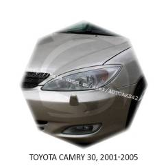 Накладка на фару. Toyota Camry, ASV40, CV43, ACV51, ACV40, AHV40, VZV31, VZV32, SV35, SV33, GSV50, SV40, MCV30, ACV30, ACV30L, SV30, SV43, SV41, CV30...